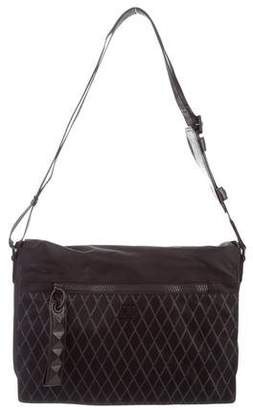 MCM Canvas Messenger Bag