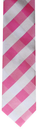Skinny Tie Madness Riddle Me Skinny Tie Pink