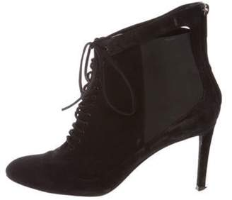 Christian Dior Suede Ankle Boots Black Suede Ankle Boots
