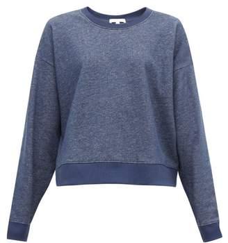 BRIGITTE Skin Cotton Sweatshirt - Womens - Denim