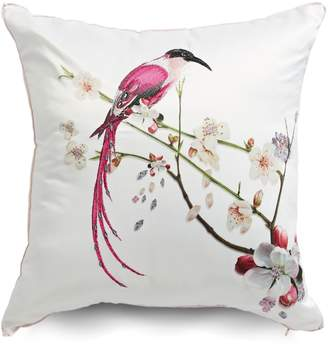 Ted Baker Printed Bird Embroidery Cushion