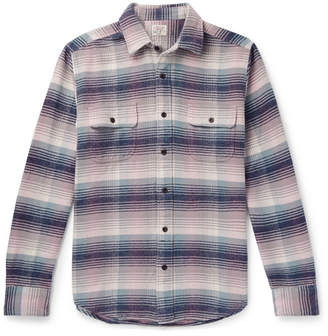 Faherty Belmar Checked Cotton Shirt