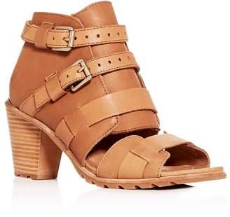 Sorel Women's Nadia Buckled High-Heel Sandals