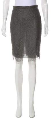 Valentino Lace Knee-Length Skirt w/ Tags