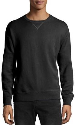 Hanes Big Men's ComfortWash Garment Dyed Fleece Sweatshirt