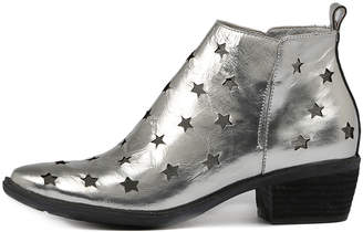 Django & Juliette Sacred Silver Boots Womens Shoes Casual Ankle Boots
