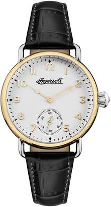 Ingersoll WATCHES Trenton Leather Strap Watch, 34mm