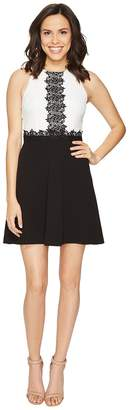 Jessica Simpson Chemical Lace Fit and Flare Dress Women's Dress