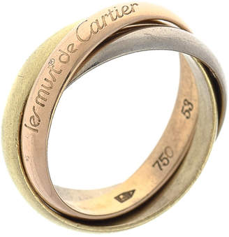 Cartier 18K Gold Trinity Ring Classic - Vintage