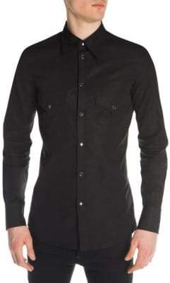 DSQUARED2 Fashion Western Button-Down Shirt