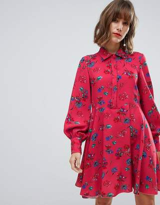 Sportmax CODE Code Floral Shirt Dress