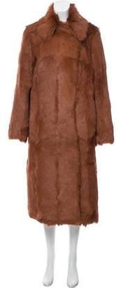 Tory Burch Long Fur Coat