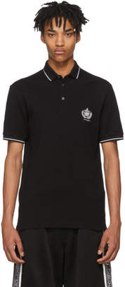 Dolce & Gabbana Black Crown Jewel Polo
