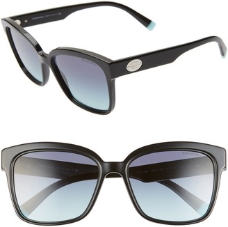 Tiffany & Co. 56mm Gradient Square Sunglasses