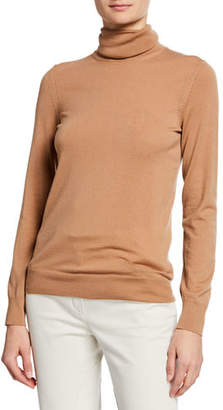 Loro Piana Featherweight Cashmere Turtleneck Sweater