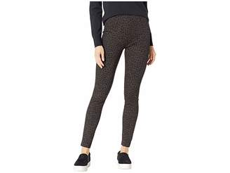 Liverpool Reese High-Rise Ankle Leggings in Cheetah Patterned Ponte Knit