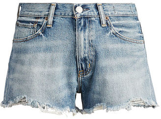 Ralph Lauren Denim & Supply Cutoff Denim High-Rise Short $89.50 thestylecure.com
