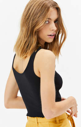 PS Basics by Pacsun Lettuce Edge Tank Top