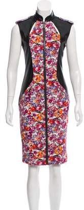 Karl Lagerfeld by Floral Print Bodycon Dress