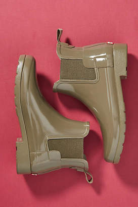 Anthropologie Hunter Boots Original Chelsea Rain Booties
