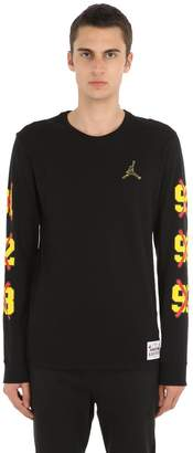 Nike Jordan Cotton Long Sleeve T-Shirt