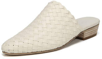 Vince Galena Woven Leather Flat Mules