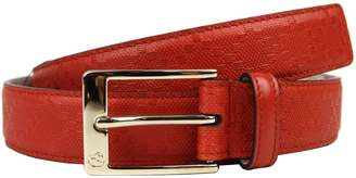 Gucci Men's Leather Diamante Square Buckle Belt 345658 (110/44, )