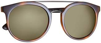 Burberry Top Bar Round Frame Sunglasses