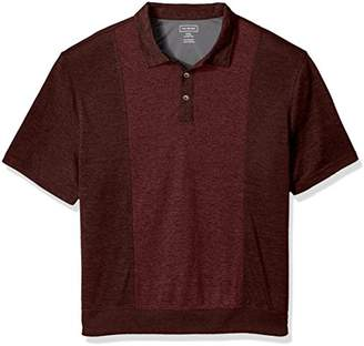 Van Heusen Men's Big and Tall Air Self Collar Polo