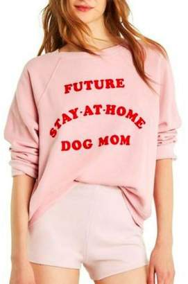 Wildfox Couture Dog Mom Sweatshirt