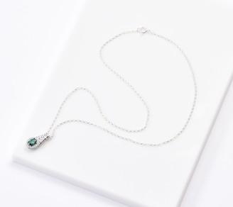 "Celtic Fado Sterling Silver Weave Pendant with 18"" Chain"