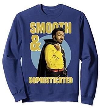 Star Wars Han Solo Movie Lando Smooth Retro Sweatshirt