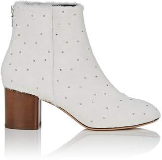 Rag & Bone Women's Drea Studded Calf Hair Ankle Boots