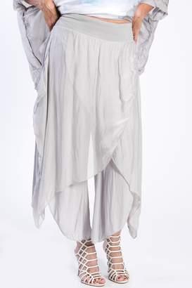 Catwalk Silk Wrap Pants