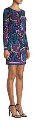 Trina Turk Camellia Paisley Mini Dress
