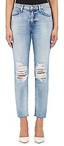 L'Agence Women's Matador Distressed Jeans - Dry Ice
