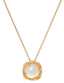 """Peter Thomas Roth 18K Gold and Mabe Pearl18"""" Necklace"""