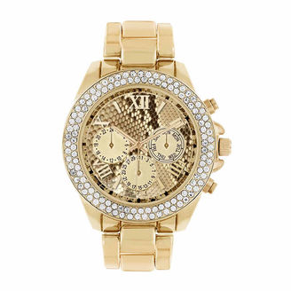 ROCAWEAR Rocawear Womens Gold Tone Bracelet Watch-Rl11713g1-005 $45 thestylecure.com