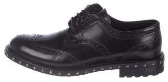 Dolce & Gabbana Leather Brogue Oxfords
