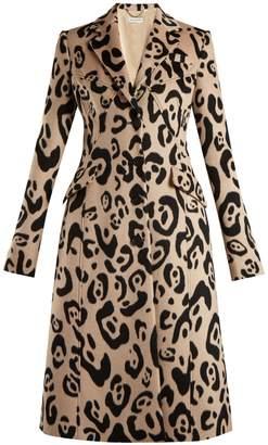 Altuzarra Driss leopard-print wool coat