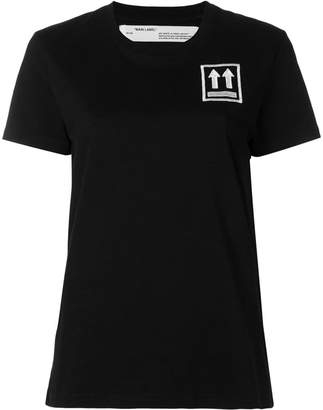 Off-White logo patch T-shirt