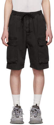 Juun.J Grey Pocket Shorts