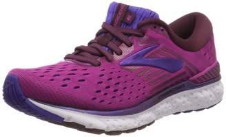Brooks Women's Transcend 6 Running Shoe (BRK-120287 1B 42520A0 9.5 Aster/FIG/PURP)