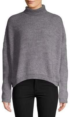 Vero Moda Ridged High Neck Sweater