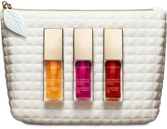 Clarins Lip Oil Trio Set $49 thestylecure.com