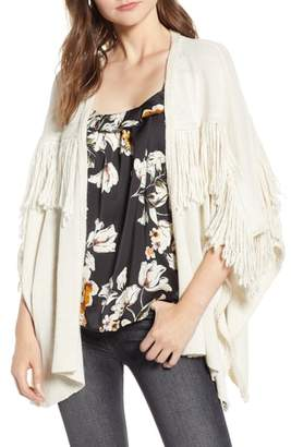 Bishop + Young BISHOP AND YOUNG Fringe Open Front Cardigan