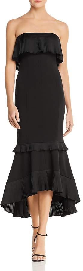 Strapless High/Low Dress