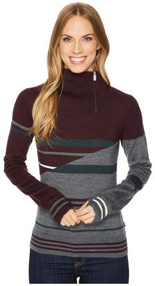 Smartwool Isto Sport Stripe Sweater Women's Sweater