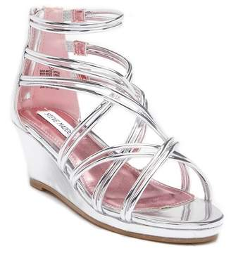 Steve Madden J-Satya Wedge Sandal (Little Kid & Big Kid)