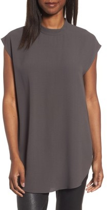 Women's Eileen Fisher Silk Tunic $268 thestylecure.com